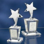 Chrome Stars with Crystal Bases Achievement Awards