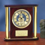 Large Clock with Exposed Gears Boss Gift Awards