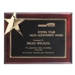 Corner Star Plaque Patriotic Awards