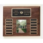 Walnut Perpetual Photo Plaque Sales Awards